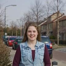 Esther is vrijwilliger voor Stichting HIP