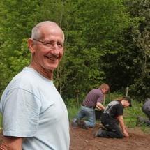 Piet is vrijwilliger bij het IVN